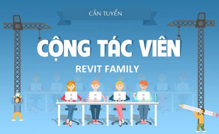 THÔNG BÁO: [IICM] – TUYỂN CTV LÀM TẠI NHÀ REVIT FAMILY, MASSING REVIT