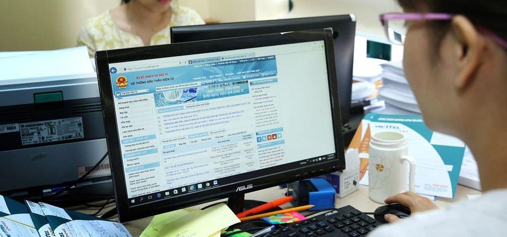 Dịch vụ tư vấn đấu thầu qua mạng