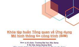 """Thư cảm ơn đến các cơ quan nhà nước, doanh nghiệp, tổ chức và cá nhân đã tham dự và ủng hộ Khóa tập huấn """"Ứng dụng mô hình thông tin công trình (BIM) trong thực hiện đầu tư xây dựng và vận hành công trình"""" tại Quảng Ninh"""