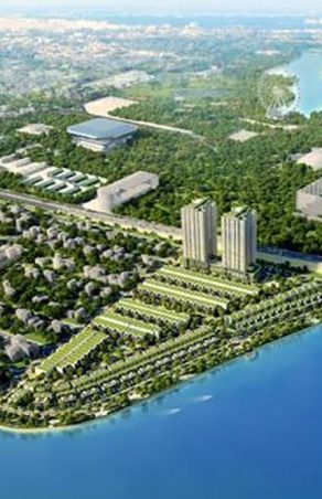Project: urban ecology, tourism, entertainment casino Xuan Giang Island