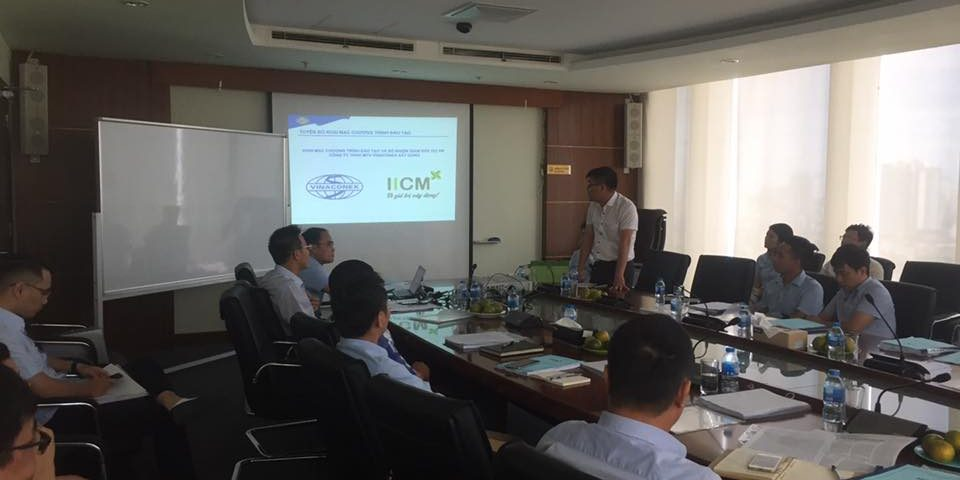 "Training course ""PMI Project Manager"" for Vinaconex Construction Company Limited – Vinaconex CM."